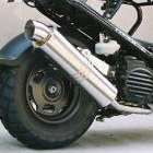 【Racing Shop Yokota】RSY Little Bomb 不銹鋼全段排氣管:Zoomer (AF58)用