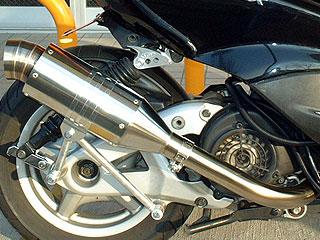 RSY Spider 不銹鋼全段排氣管:Zoomer (AF58・噴射供油)用