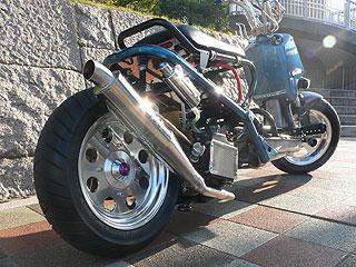 【Racing Shop Yokota】RSY Slim Bomb 不銹鋼全段排氣管:Zoomer (AF58・噴射供油)用 - 「Webike-摩托百貨」