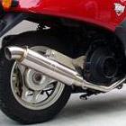 【Racing Shop Yokota】RSY Little Bomb 不銹鋼全段排氣管:DIO (AF68・噴射供油)用