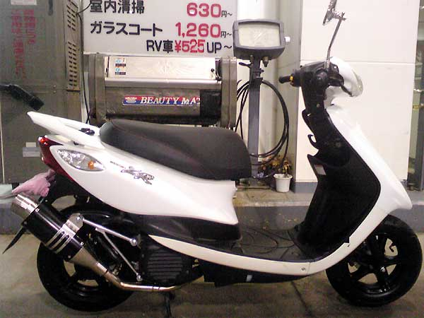 【Racing Shop Yokota】 RSY Spider 全段排氣管:Jog Deluxe (SA39J)用 - 「Webike-摩托百貨」