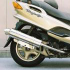【Racing Shop Yokota】RSY Little Bomb 不銹鋼全段排氣管:Majesty 125 (5CA)用