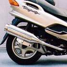 【Racing Shop Yokota】RSY Beauty L 不銹鋼全段排氣管:Majesty 125FI(5CA)用