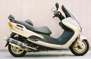 【Racing Shop Yokota】RSY Little Bomb 碳纖維全段排氣管:Majesty 125FI (5CA)用 - 「Webike-摩托百貨」