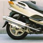 【Racing Shop Yokota】RSY Little Bomb 不銹鋼全段排氣管:Majesty 125FI (5CA)用