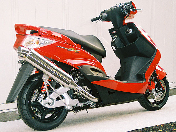 【Racing Shop Yokota】RSY Excellent 不銹鋼消音器單品:Cygnus X(SE44J)用 - 「Webike-摩托百貨」