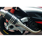【Racing Shop Yokota】RSY Spider 黑色碳纖維全段排氣管:Cygnus X (SE44J)用