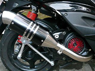 RSY Spider 全段排氣管:BW'S125用