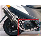 【Racing Shop Yokota】RSY Little Bomb Ultra Hi-Up Type用 排氣管前段:Address V125 (CF46A)