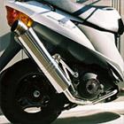 【Racing Shop Yokota】RSY Little Bomb 不銹鋼全段排氣管・Up:Address V125 (CF46A)用