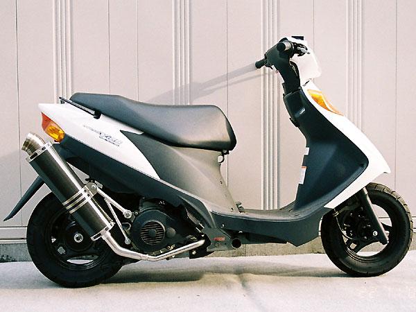 【Racing Shop Yokota】RSY Little Bomb 黑色碳纖維全段排氣管・Up:Address V125 (CF46A)用 - 「Webike-摩托百貨」
