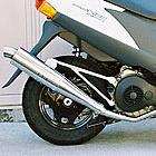 【Racing Shop Yokota】RSY Slim Bomb 不銹鋼全段排氣管:Address V125 (CF4EA)用
