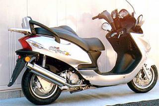 RSY Big Horn 不銹鋼全段排氣管:Kymco Grand Dink 125用