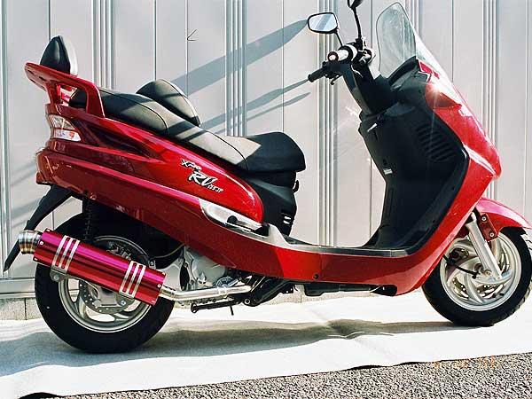 【Racing Shop Yokota】RSY Wild Bomb 全段排氣管:SYM RV125 JP用 - 「Webike-摩托百貨」