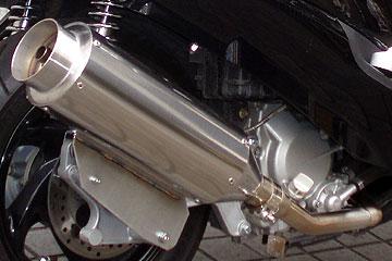 【Racing Shop Yokota】RSY Beauty L 不銹鋼全段排氣管:SYM RV125 EFI 用 - 「Webike-摩托百貨」