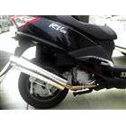 【Racing Shop Yokota】RSY Little Bomb 不銹鋼全段排氣管:SYM RV125 i(LF12W)用