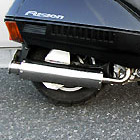 【Racing Shop Yokota】RSY Big Horn 不銹鋼全段排氣管:FUSION (MF02)・Lowdown 用