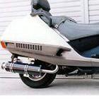 【Racing Shop Yokota】RSY Big Horn 黑色碳纖維全段排氣管:FUSION (MF02)用