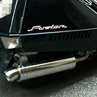 【Racing Shop Yokota】RSY Little Bomb 不銹鋼全段排氣管:FUSION (MF02)・Lowdown用