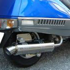 【Racing Shop Yokota】RSY Little Bomb 不銹鋼全段排氣管:FUSION (MF02)用