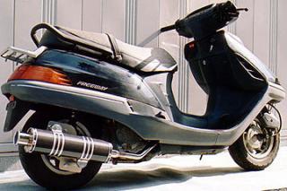 RSY Big Horn 黑色碳纖維全段排氣管:FREEWAY (MF03)用