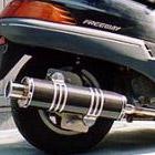【Racing Shop Yokota】RSY Big Horn 黑色碳纖維全段排氣管:FREEWAY (MF03)用