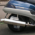 【Racing Shop Yokota】RSY Little Bomb 不銹鋼全段排氣管:FREEWAY (MF03)用
