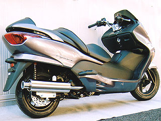 RSY Big Horn 不銹鋼全段排氣管:FORZA (MF08)用