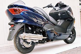 RSY Little Bomb 不銹鋼全段排氣管:FORZA (MF08)用