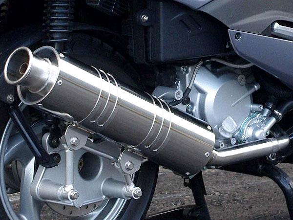 RSY Big Horn 不銹鋼全段排氣管:Silver Wing 400(NF01・有排氣閥)用