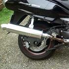 【Racing Shop Yokota】RSY Little Bomb 不銹鋼全段排氣管:Silver Wing 600 (PF01)用