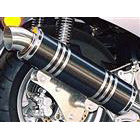 【Racing Shop Yokota】RSY Little Bomb 碳纖維全段排氣管:Majesty 250 (4HC)用