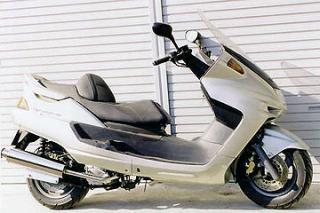 RSY Big Horn 不銹鋼全段排氣管:Majesty 250SV/ABS (SG01J)用