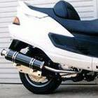 【Racing Shop Yokota】RSY Big Horn 黑色碳纖維全段排氣管:Majesty 250SV/ABS(SG01J)用