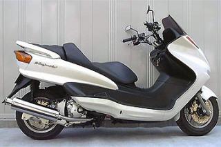 RSY Big Horn 不銹鋼全段排氣管:Majesty 250(SG03J)用
