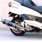 【Racing Shop Yokota】RSY Big Horn 黑色碳纖維全段排氣管:Majesty 250(SG03J)用