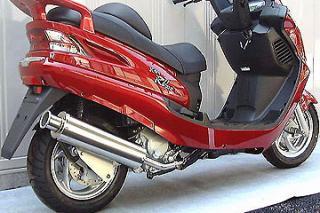 RSY Big Horn 不銹鋼全段排氣管:SYM RV200I用