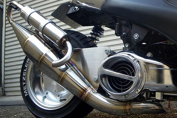【Racing Shop Yokota】RSY EURO 全不銹鋼膨脹室排氣管:BW'S100(4VP) - 「Webike-摩托百貨」