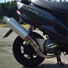【Racing Shop Yokota】RSY Sport 全不銹鋼全段排氣管:Jog ・JOG(SA16J)用