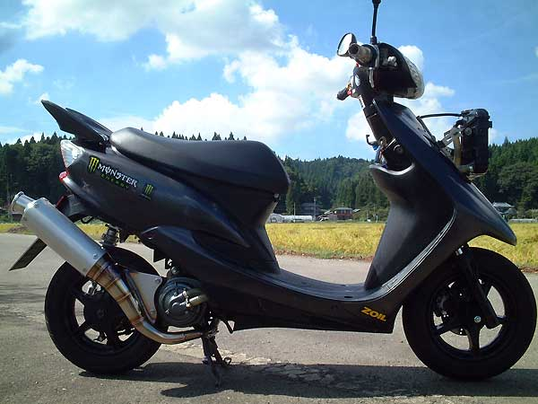 RSY Sport 全不銹鋼全段排氣管:Jog ZR・JOG ZR(SA16J)用