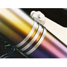 【Racing Shop Yokota】RSY Little Bomb Rainbow 鈦合金全段排氣管用 消音器束環