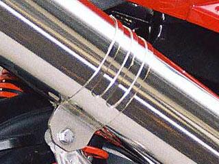 RSY Excellent 不銹鋼全段排氣管用 消音器束環