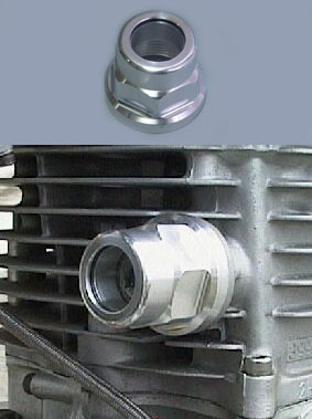 SR用 透明正時鏈條張力器蓋