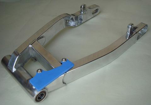 SR400/500 拋光型鋁合金後搖臂