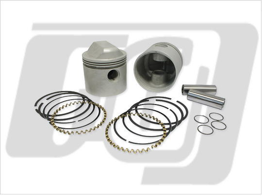 【GUTS CHROME】V-TWIN XL1000cc用 活塞套件 .010 - 「Webike-摩托百貨」