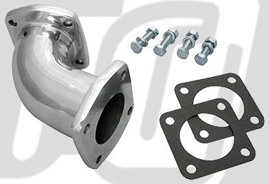 SU 化油器用 彎頭進氣歧管 (拋光)