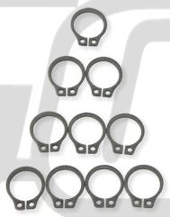 離合器輪轂軸承固定片用 C型卡簧