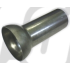 【GUTS CHROME】製作用排氣管尾蓋 (Round Type)