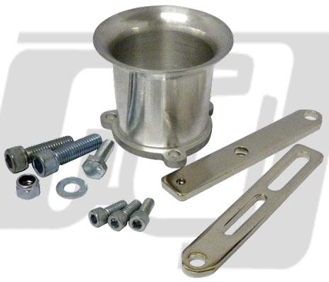 【GUTS CHROME】S&S B化油器用喇叭口組 2.5吋 - 「Webike-摩托百貨」