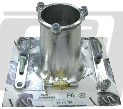 【GUTS CHROME】S&S E、G化油器用 喇叭口組 4吋 - 「Webike-摩托百貨」